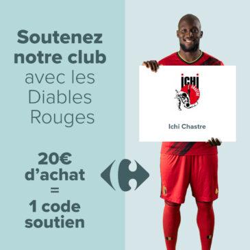 Soutien à notre club via Carrefour